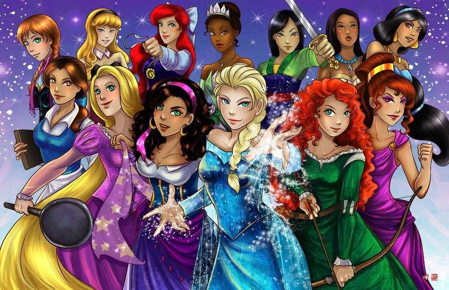 Disney Princesses | SHEVA.com
