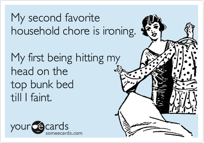household chores someecards