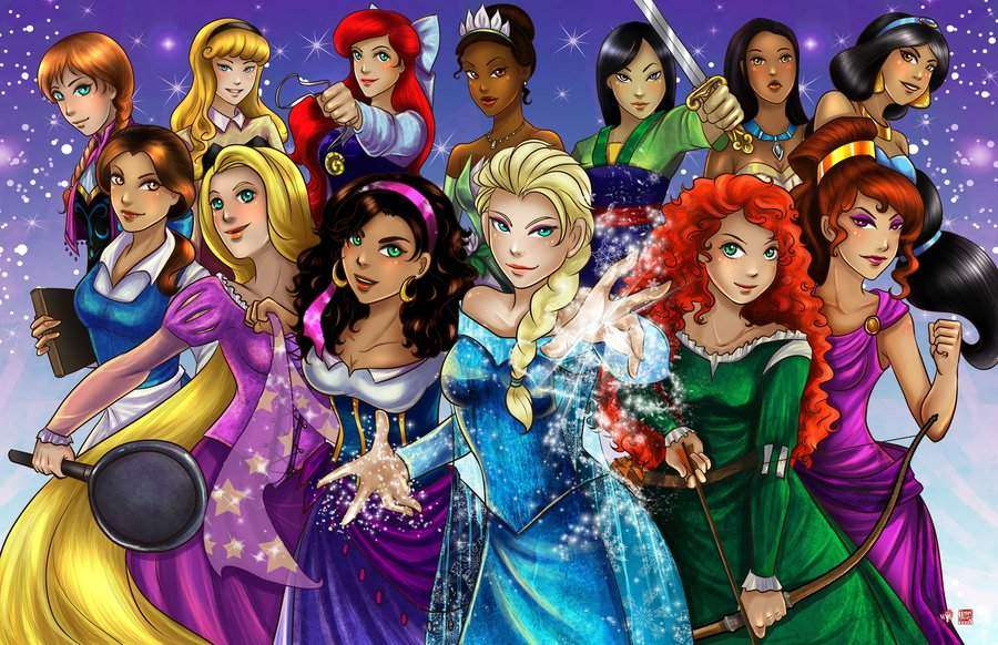 Disney Princesses | SHEVA.com