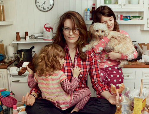 Tina Fey is an awesome mom