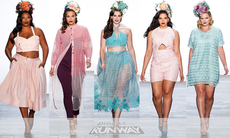 Project Runway S First Plus Size Collection Debuts At New York Fashion Week Bringing Hope To A Narrow Minded Industry Sheva Com