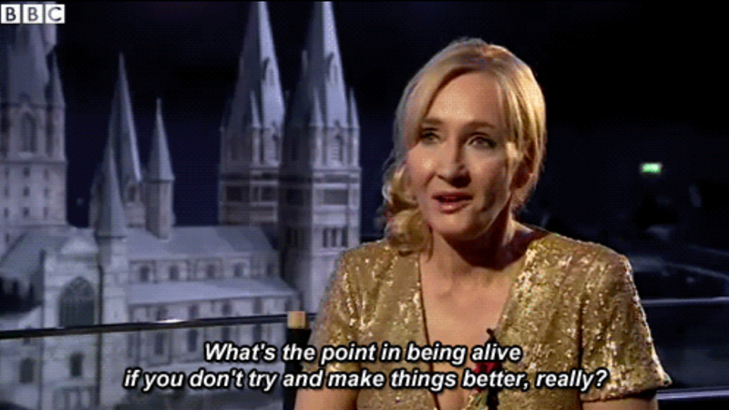 Author J.K.Rowling