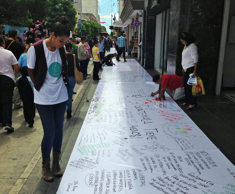 Guatemala Anticorruption festival