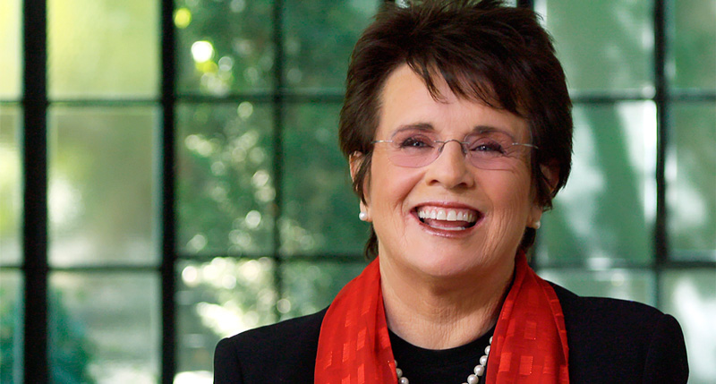 Queen Sheva Billie Jean King