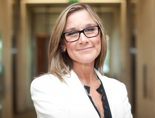 QUEEN SHEVA WEDNESDAY: Angela Ahrendts